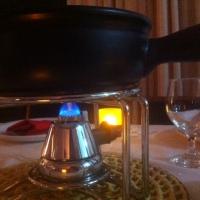 Nova panela de fondue. Melhoria e preocupação.