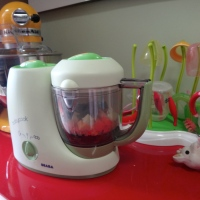 Novo xodó na cozinha e na casa: Babycook, cozinha a vapor para bebês e para os pais!