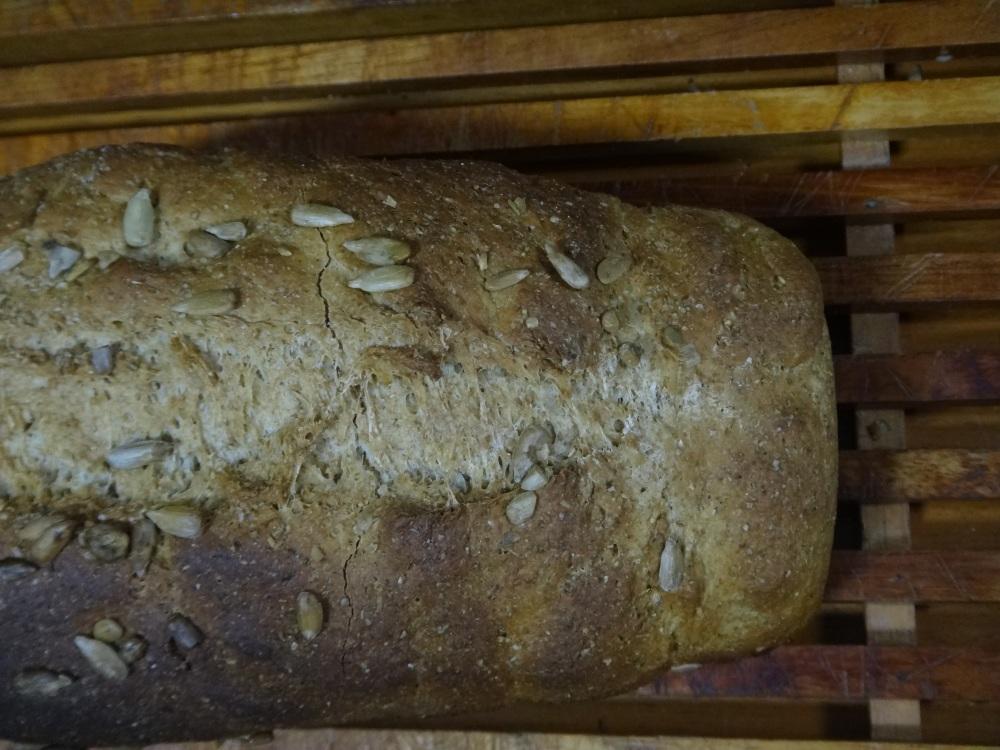 O pão integral prontinho!