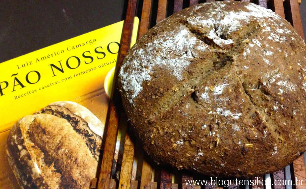 Pão com fermento natural: minha aventura com levain